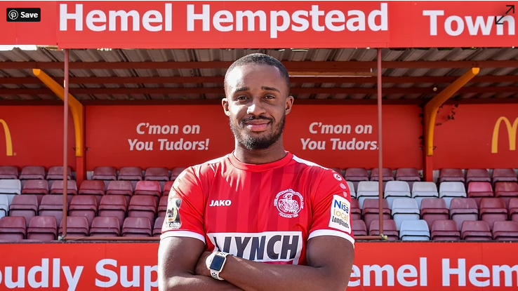 VIDEO: Ghanaian defender George Essuman delighted to join Hemel Town