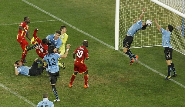 Today In Sports History: Luis Suarez's 'hand of God' breaks Ghana's heart as Uruguay eliminates Ghana from 2010 World Cup