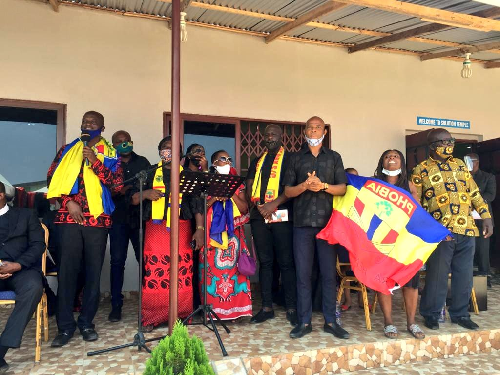 Hearts of Oak pay final respect to the late mother of Mahatma Otoo