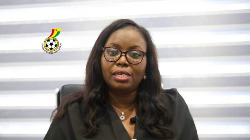 WPL Chairperson Madam Hilary Boateng commends GFA and YEA's initiative for female footballers