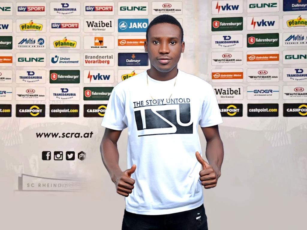 SCR Altach is a perfect platform to continue with my development - new signing Nana Kofi Babil