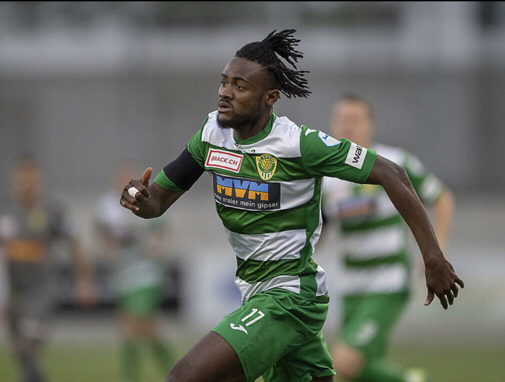 Ghanaian attacker Abubakar-Ankrah scores 14h league goal in Switzerland