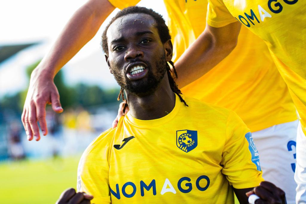 Ghanaian forward Arafat Mensah scores in NK Bravo draw in Slovenia