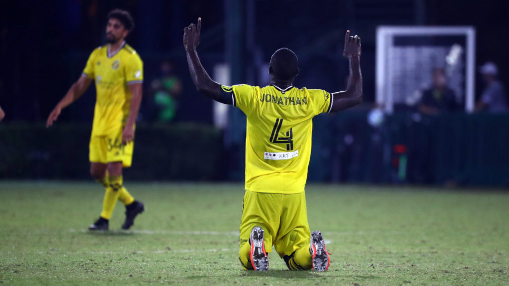 Columbus Crew captain Jonathan Mensah dedicates 'MLS is Back' opening day jersey to wife