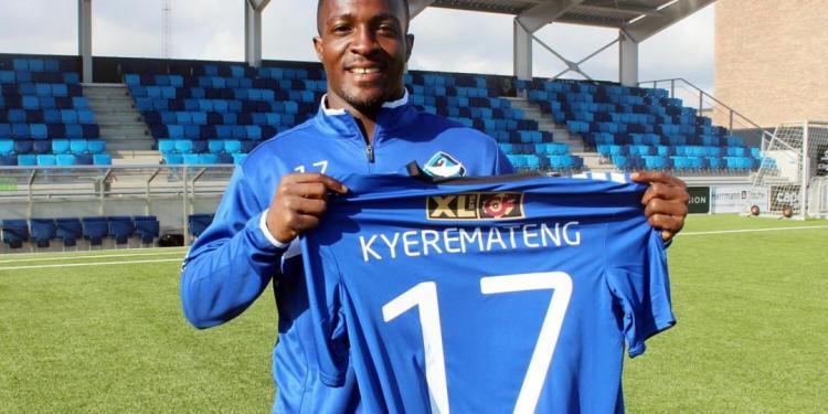 HB Kobe forward Emmanuel Kyeremanteng delighted with Adebayor's transfer move to the club