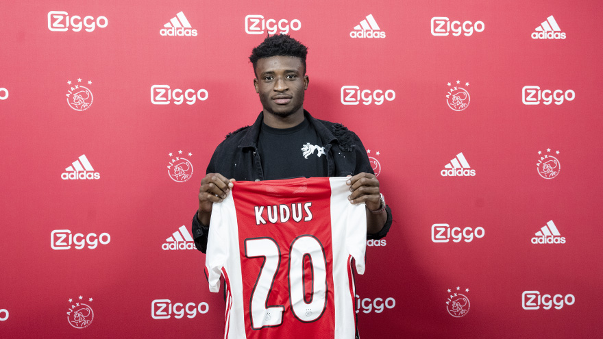 Kudus Mohammed will need time to adapt in Netherlands, says Ajax boss Ten Hag