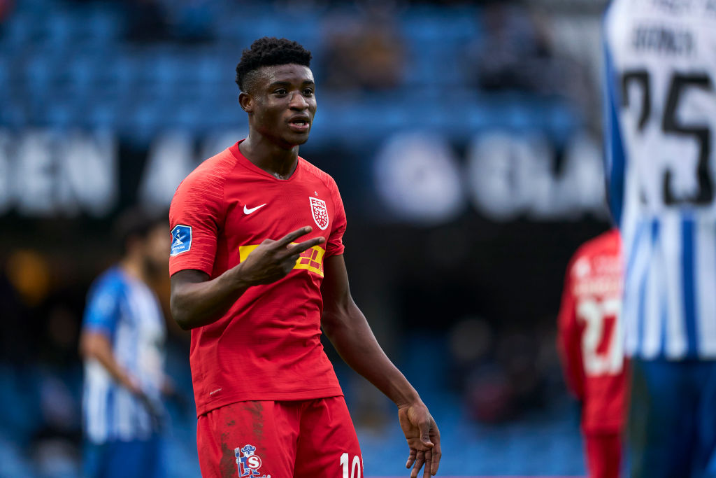 Mohammed Kudus prefers Liverpool move as Ghana star eyes dream Anfield career