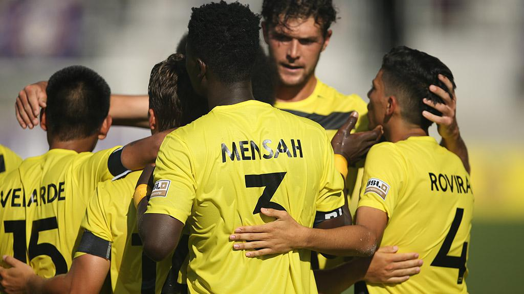 VIDEO: Ropapa Mensah scores debut goal for Pittsburgh Riverhounds in win BIG over Philadelphia Union II