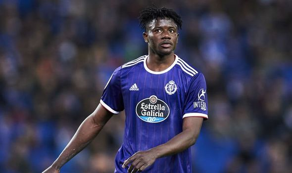 French side Rennes back for Real Valladolid star Mohammed Salisu