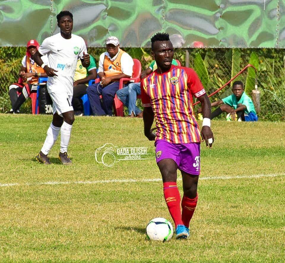 Hearts midfield gem Emmanuel Nettey disappointed by the cancellation of the league