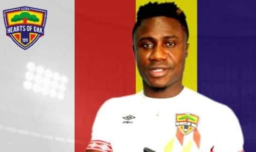 Nuru Sulley set sights on winning trophies with Hearts of Oak