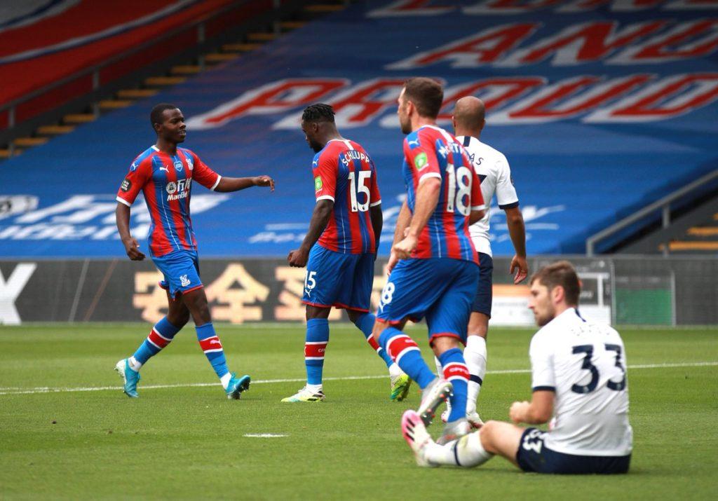 VIDEO: Jeffrey Schlupp scores for Crystal Palace on EPL final day