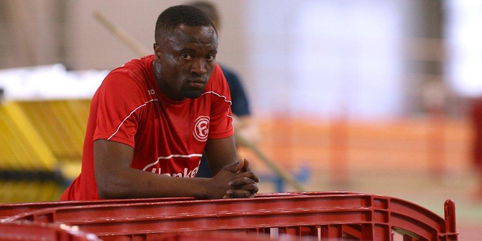 Ghanaian striker Bernard Tekpetey facing sanction at Fortuna Düsseldorf over contract dispute