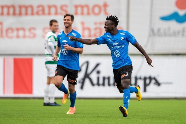 Ghanaian midfielder Thomas Boakye on target for Halmstads BK in Sweden