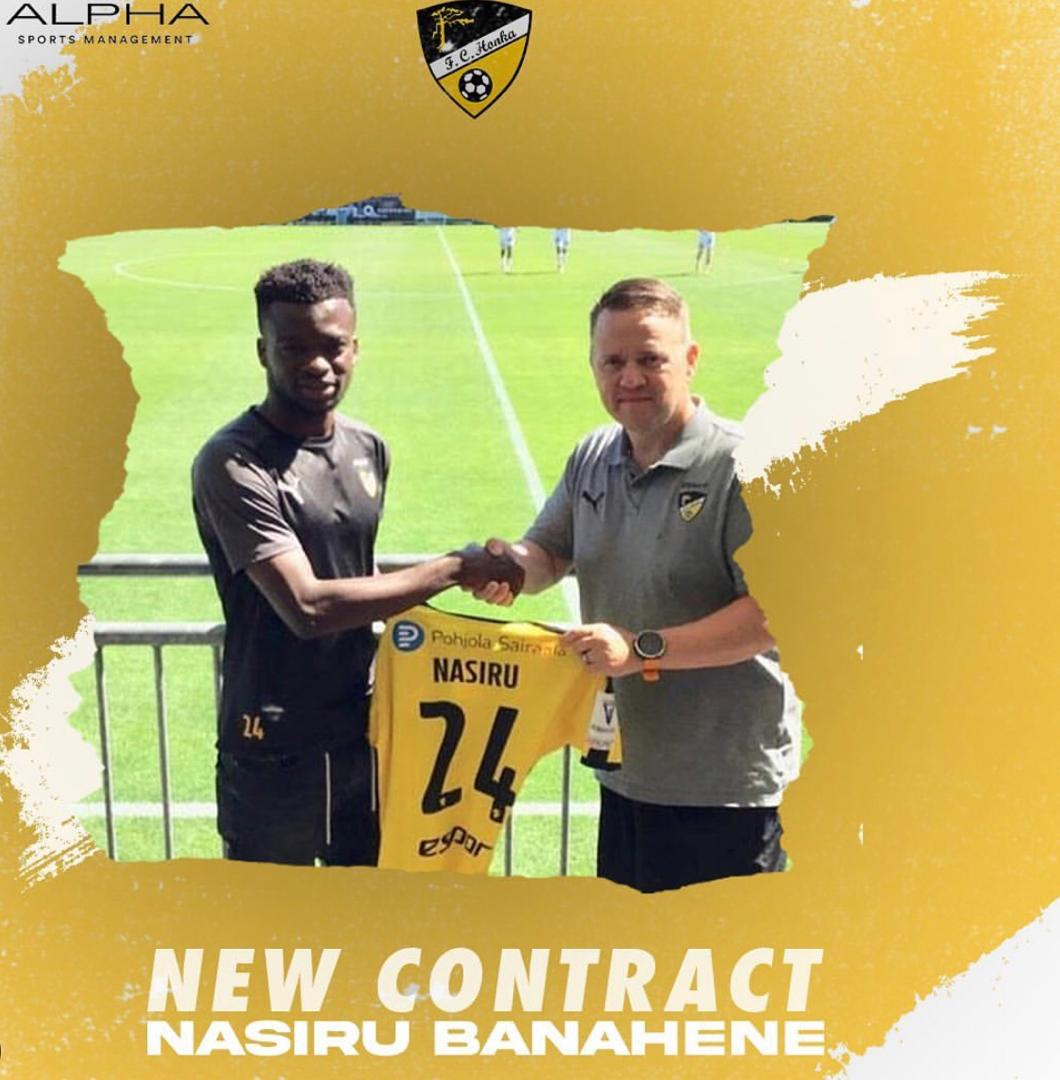 EXCLUSIVE: Finnish top-flight side Honka FC sign Nasiru Banahene permanently from MTK Budapest