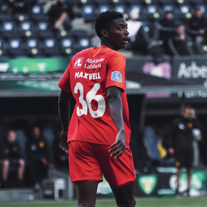 Maxwell Woledzi plays full throttle on Nordsjaelland debut in heavy league defeat