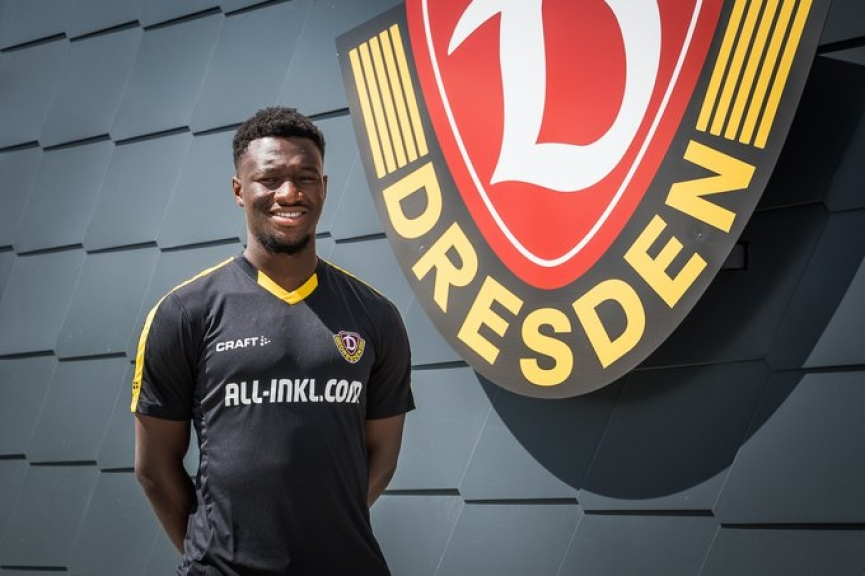 Agyemang Diawusie eyes successful spell with new club Dynamo Dresden