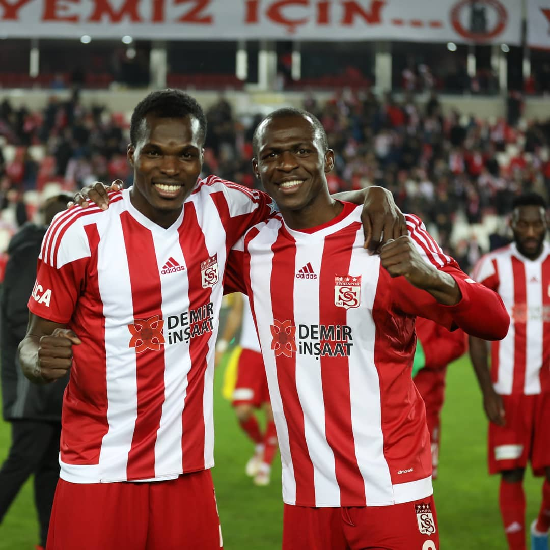 Isaac Cofie shines as Sivasspor beat Fenerbache to secure Europa League spot