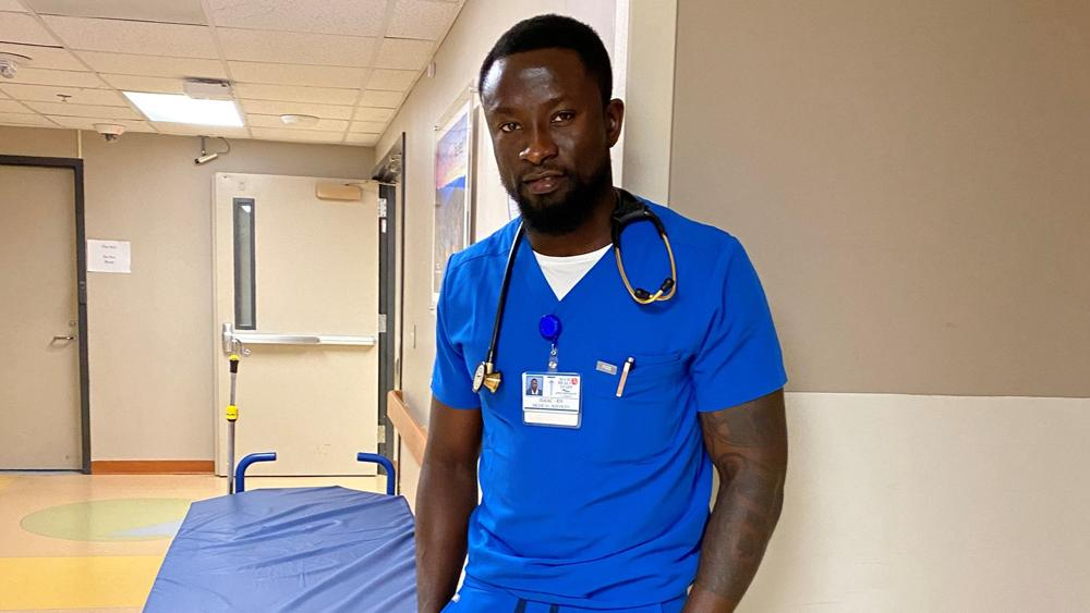 Former Ghanaian footballer Isaac Kissi making the difference in America