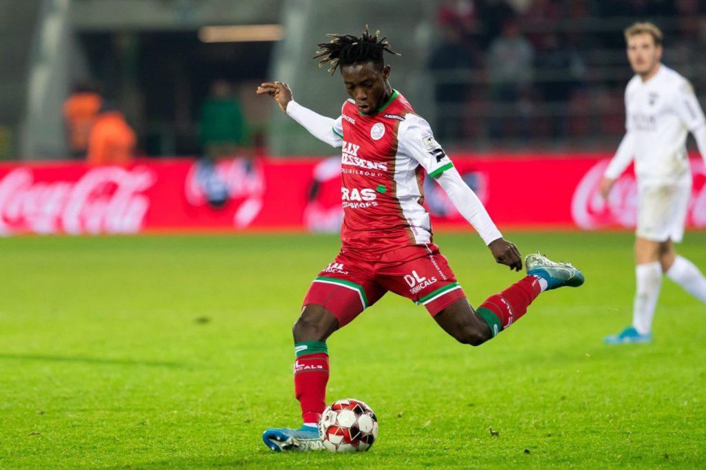 Ghana defender Gideon Mensah leaves Zulte Waregem after loan spell