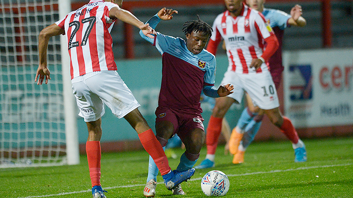 'It's been one of my best season'- West Ham United starlet Appiah-Forson