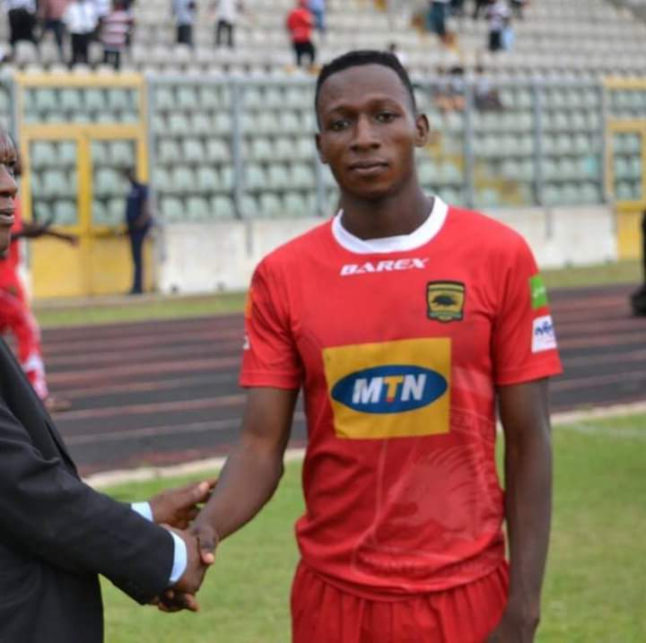 Osman Ibrahim ready to fight for a place at Kotoko