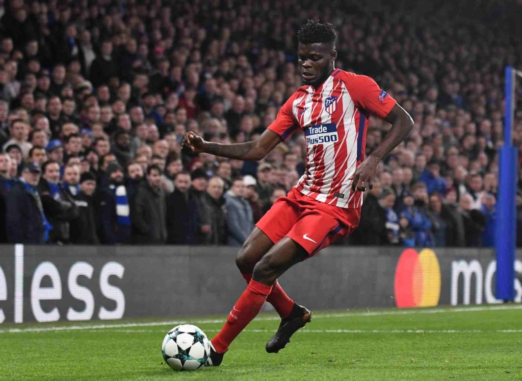 EXCLUSIVE: Thomas Partey set to snub Arsenal by signing bumper new Atlético Madrid deal