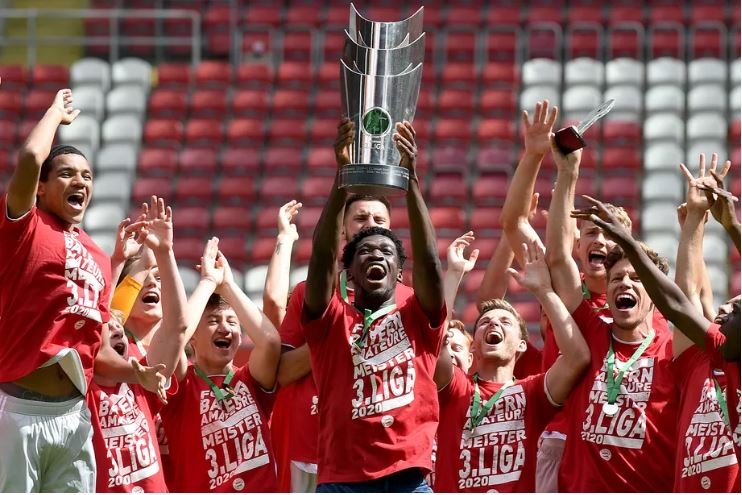 Ghanaian duo Wriedt and Kohn help Bayern Munich II secure German 3.Liga title