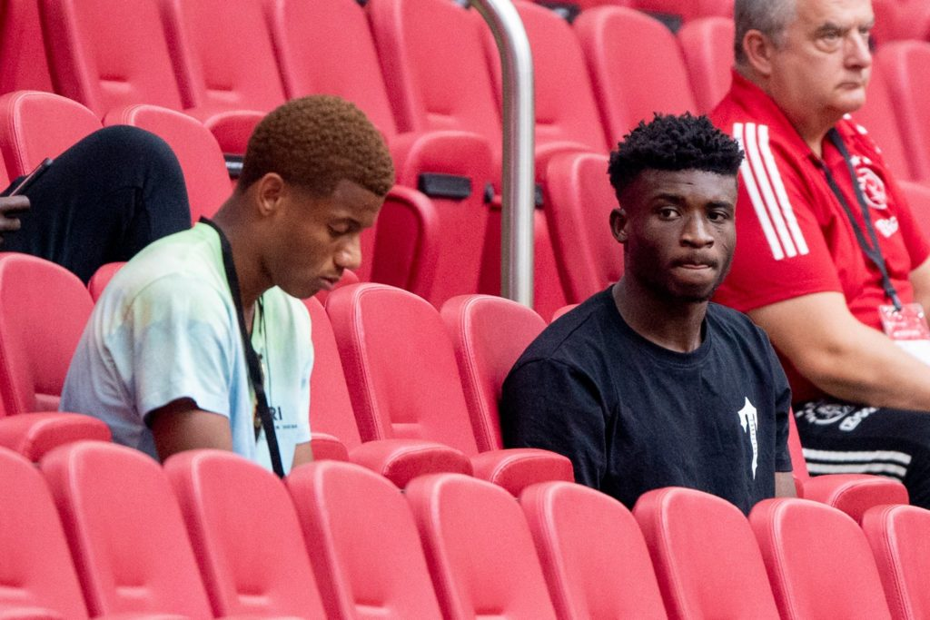 Kudus Mohammed in attendance as Ajax whitewash RKC Waalwijk in friendly encounter