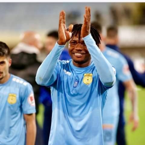Ex-Ghana youth star Albert Bruce bids farewell to Greek side Ergotelis