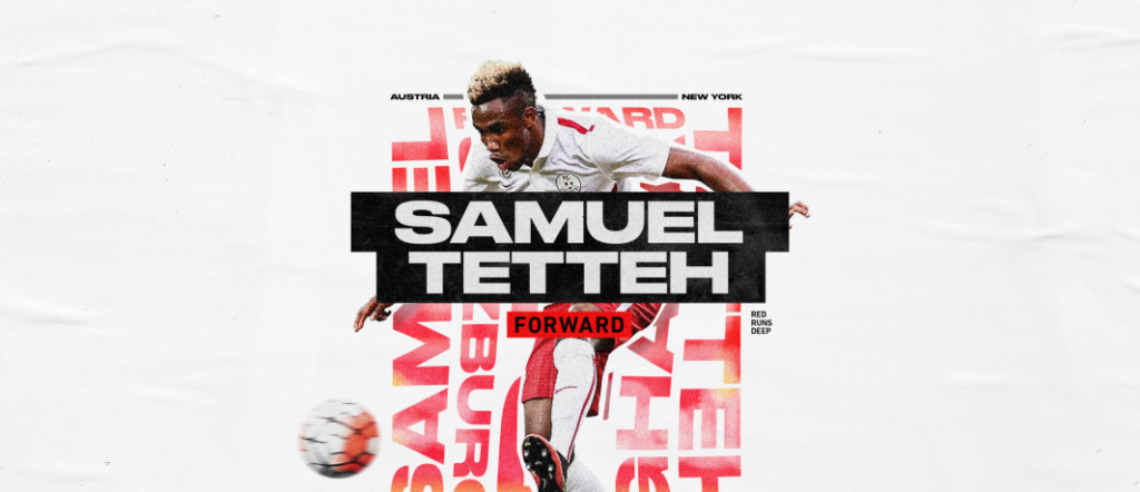 Ghana's Samuel Tetteh excited after joining New York Red Bulls