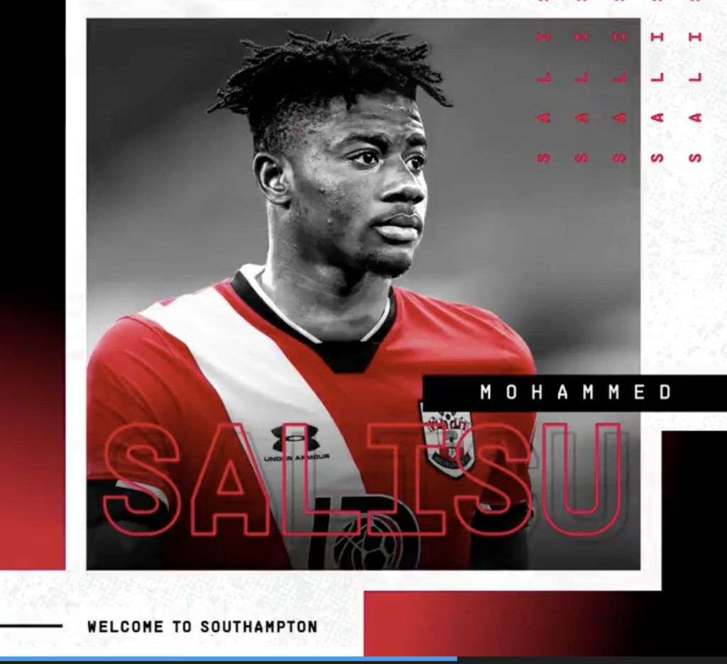VIDEO: Mohammed Salisu in top shape for Southampton EPL opener against Crystal Palace