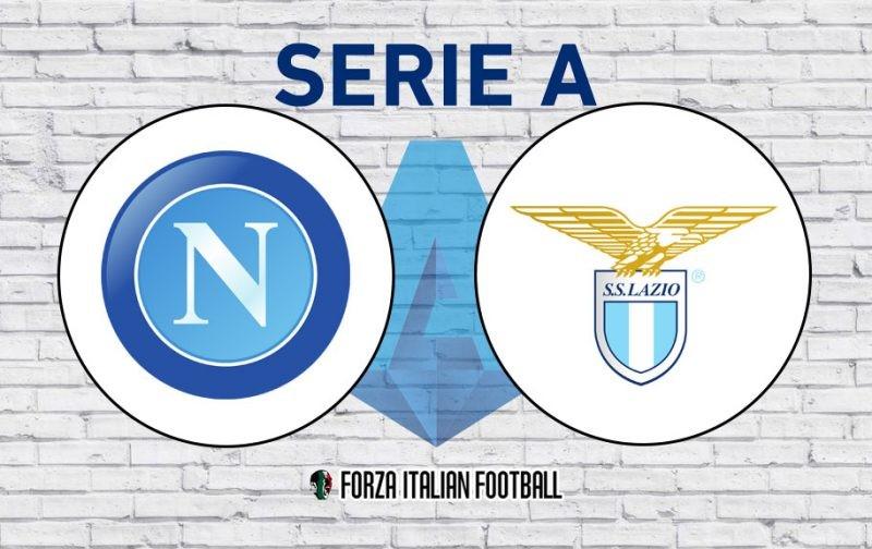 Napoli v Lazio: Official Line-Ups