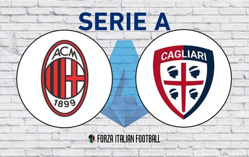 AC Milan v Cagliari: Official Line-Ups