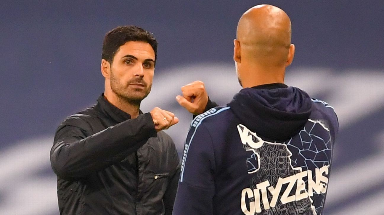 Arteta credits Pep's teaching after FA Cup win
