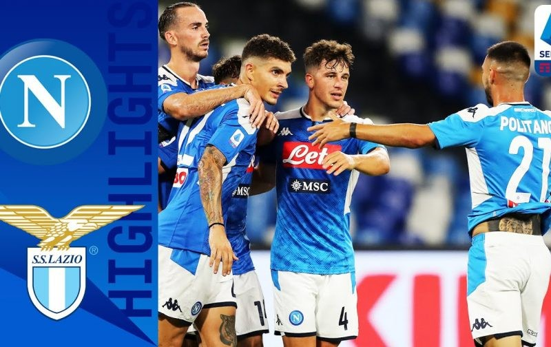 Napoli 3-1 Lazio: Goals and Highlights | Immobile not enough