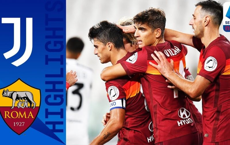 Juventus 1-3 Roma: Goals and Highlights | Perotti spoils the party
