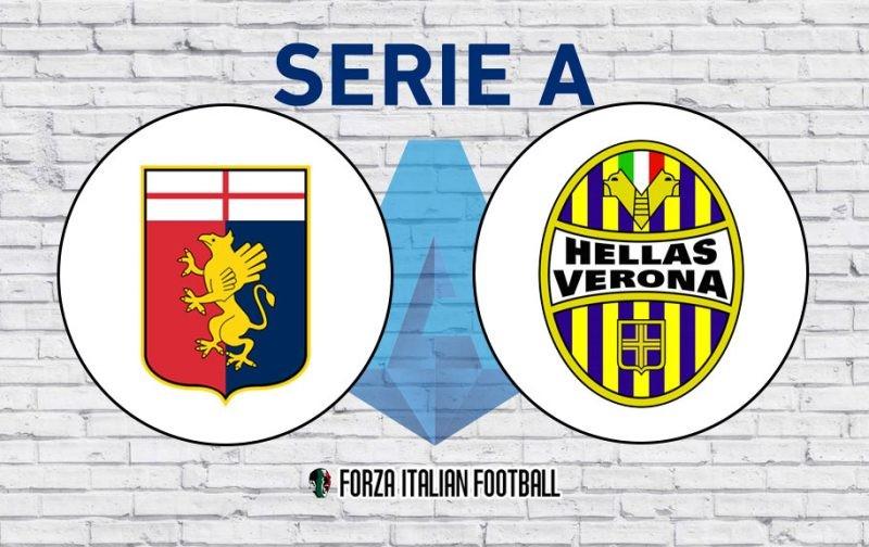 Genoa v Hellas Verona: Probable Line-Ups and Key Statistics