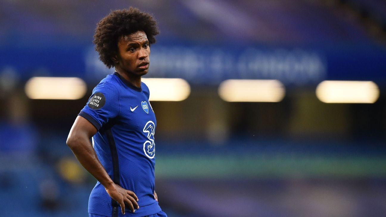 Sources: Willian edges closer to Chelsea exit