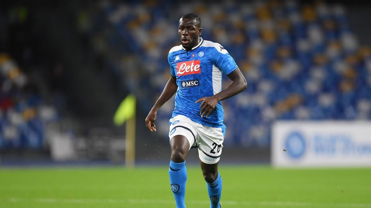 Sources: City still keen on Koulibaly, Torres
