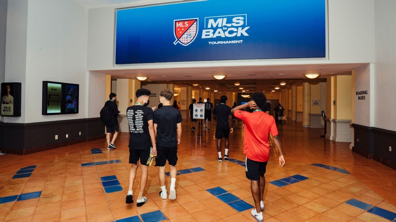 MLS is Back Tournament: What it's really been like after one month inside the bubble