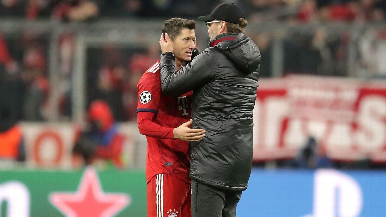 Lewandowski: Liverpool boss Klopp has 'two faces'