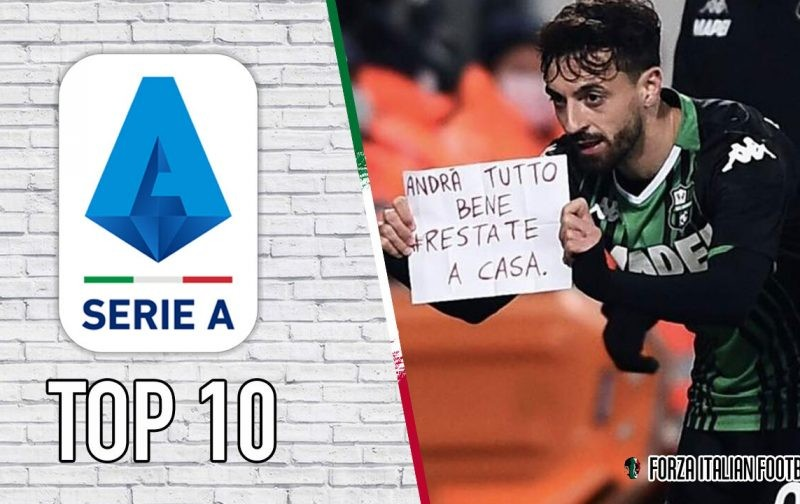 Serie A 2019/20 Top 10 Memorable Moments