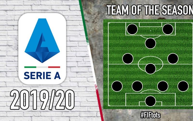 Serie A 2019/20 Team of the Season