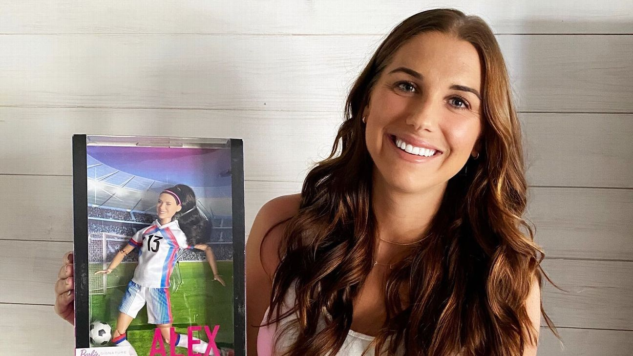 Alex Morgan gets own Barbie; joins Messi, Ronaldo in world of action figures