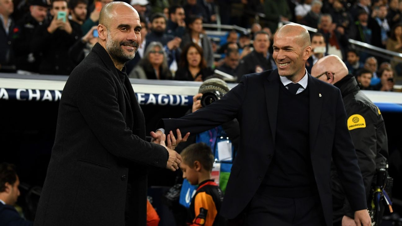Can Guardiola learn from Zidane and end his UCL wait?