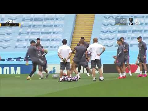 ⚽ Real Madrid training session ahead of Manchester City!