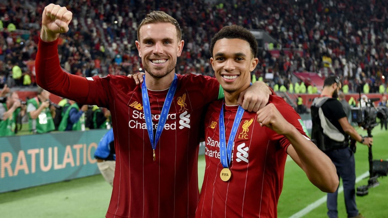 Liverpool trio nominated for PL player award