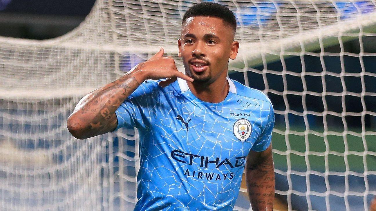 Pep praises 'decisive' Jesus for Man City win