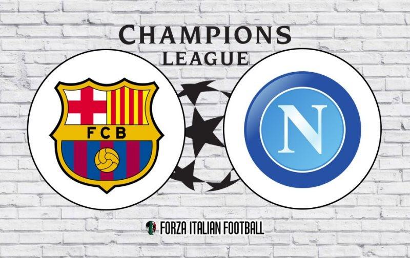 Champions League LIVE: Barcelona v Napoli